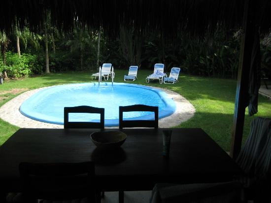 Mariposa Vacation Homes: Pool and backyard