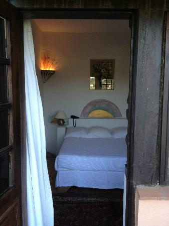 La Colombe d'Or: Room from balcony