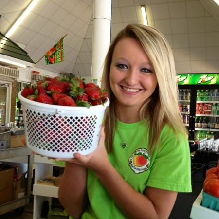 Peach Park: when in season, Chilton also supplies with an abundance of strawberries.