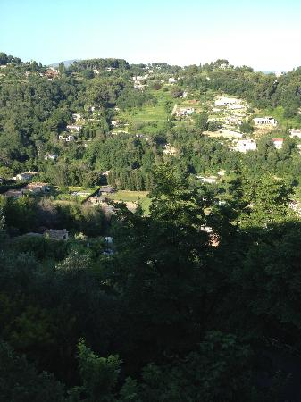 La Colombe d'Or : Nice view from room