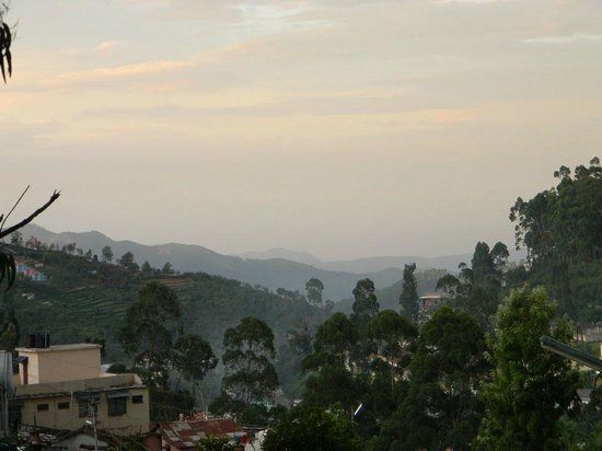 TTDC Hotel Tamilnadu Kodaikanal: View from the room