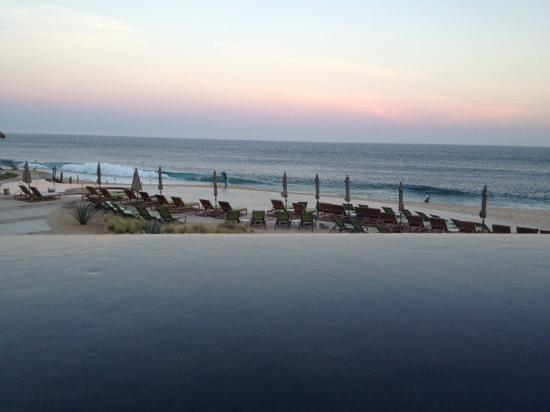 The Resort at Pedregal: a view from our private pool - dusk