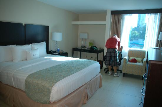 DoubleTree By Hilton Panama City: Our room at the Doubletree