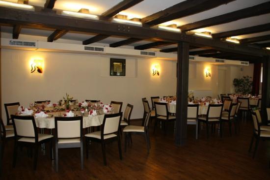 Hotel Restaurant Liebnitzmühle: Raum für Veranstaltungen wie z.B: Hochzeiten etc.