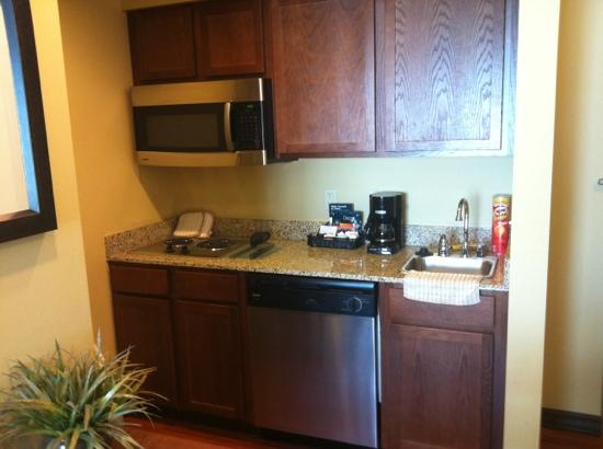 Homewood Suites by Hilton Bozeman: fully stocked kitchen & full size refrigerator