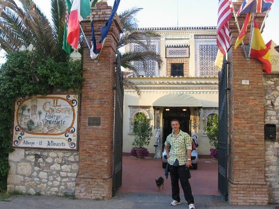 Albergo Il Minareto: Ingresso hotel 