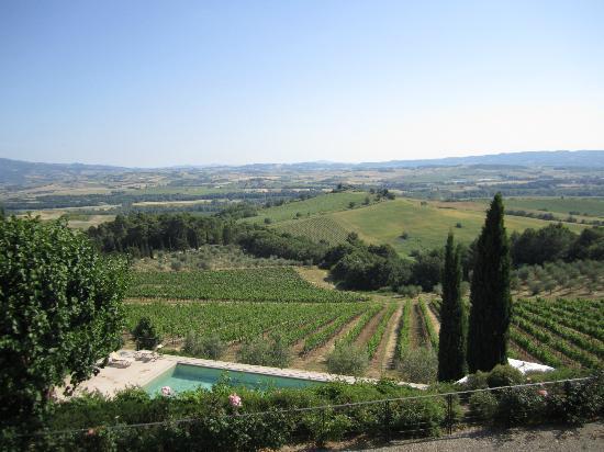 كاستيلو بانفي - إل بورجو: The view