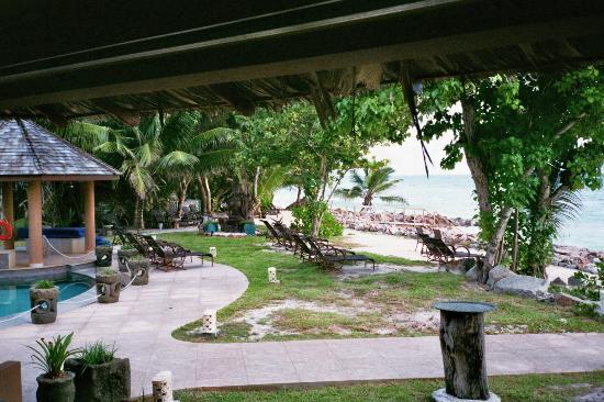 Castello Beach Hotel: Blick aufs Meer