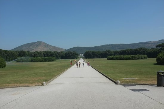 Reggia di Caserta: Blick vom Schloss
