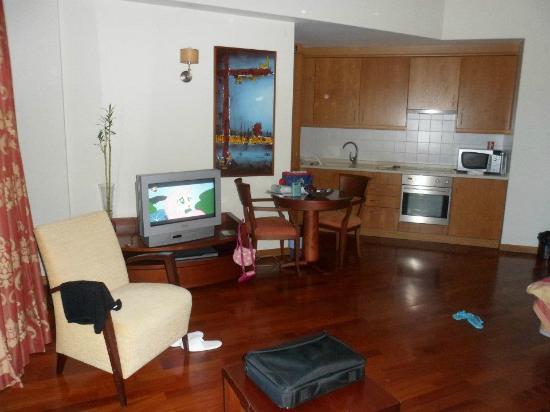 Solplay Hotel de Apartamentos: Kitchenette