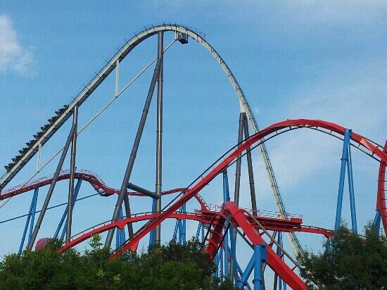 Red Force Roller Coaster Tallest & Fastest in Europe ...