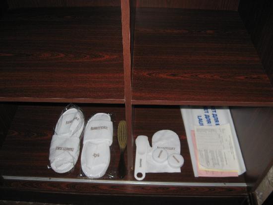 โรงแรมอีวาซอฟสกี้: Шкаф