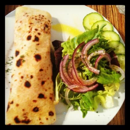 Zest Cafe Gallery: chilli chicken wrap