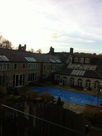 Feversham Arms Hotel & Verbena Spa: View from the room's balcony