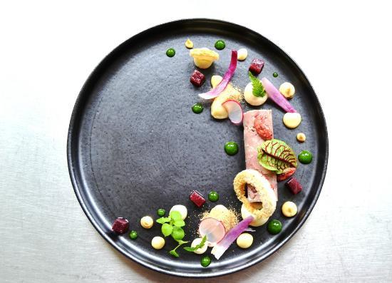 Duo Restaurant: Belgian Porc/Onions/Bread