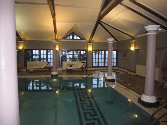 The Oberoi Cecil, Shimla: lovely pool with great service