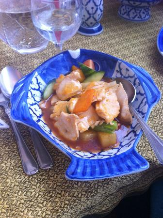 Torbay Thai: Chicken in a sweet and sour sauce