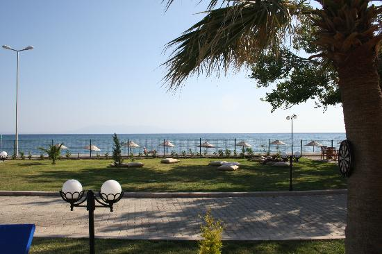 Gumuldur Resort Hotel: jardin