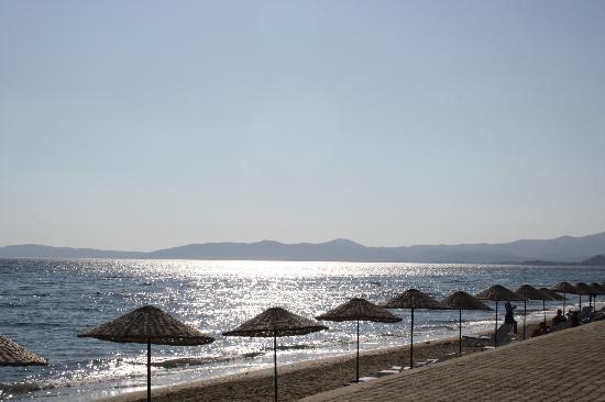 Gumuldur Resort Hotel: plage