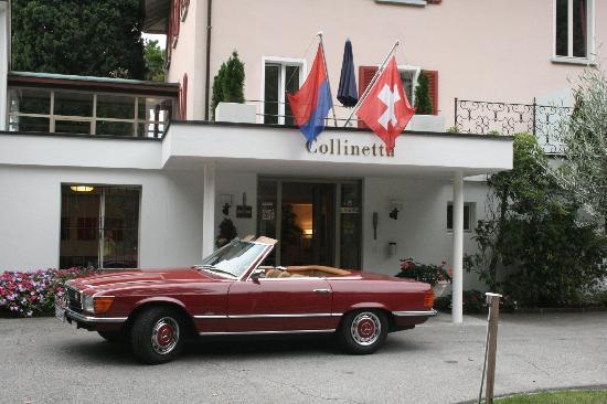 Hotel Collinetta : Eingang des Hotels