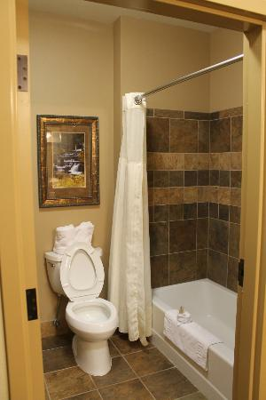 The Lodge at Deadwood: Suite bathroom