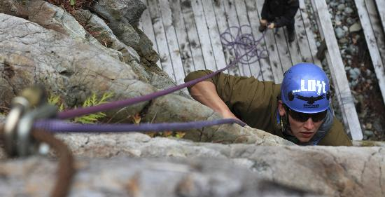 Clayoquot Wilderness Resort: Rockclimbing