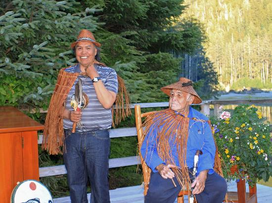 Clayoquot Wilderness Resort: Traditional West Coast traditions at a wedding ceremony