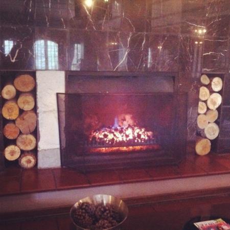 فالي لودج آند سبا: fire place 