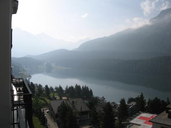 Hotel Schweizerhof: Il panorama dalla nostra camera