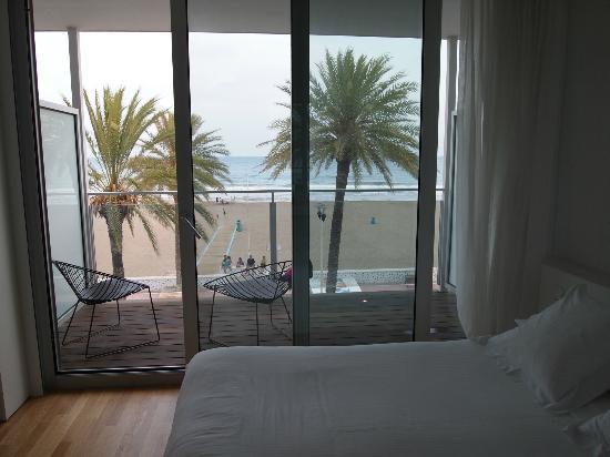 Hotel de la Playa: terraza privada de la habitación