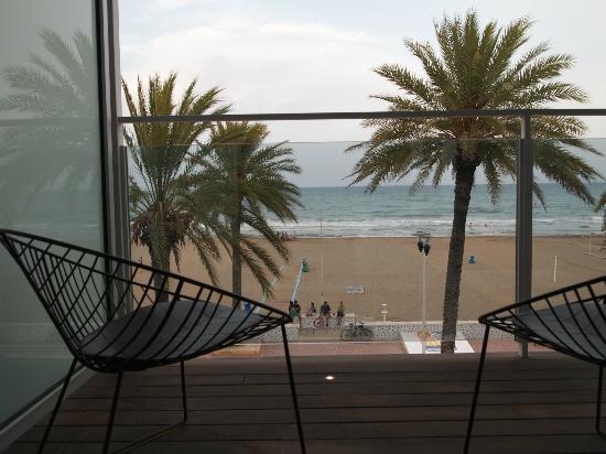 Hotel de la Playa: terraza privada