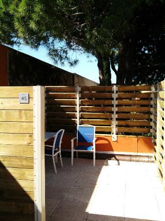Résidence Prestige Odalys Du Golfe : terrace of my room