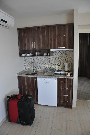 Residence La Vue: kitchenette