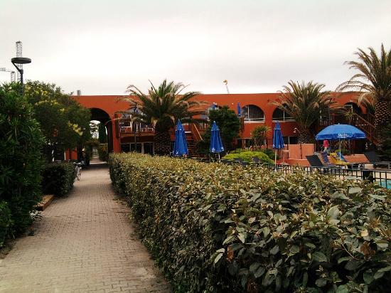 Résidence Prestige Odalys Du Golfe: courtyard