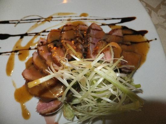 Tempio del Gusto: sliced duck...yummy!