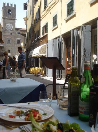 Caffe Degli Artisti: view 2 from outdoor table