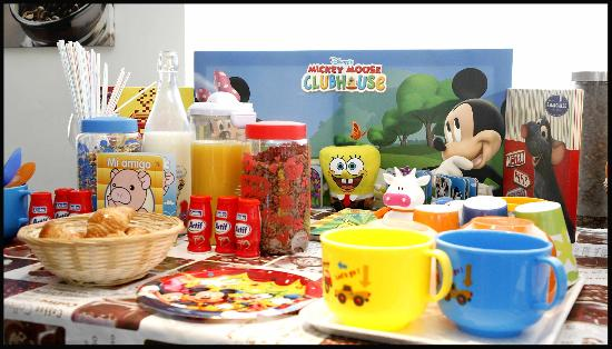 Hotel Cadosa: Desayuno Infantil
