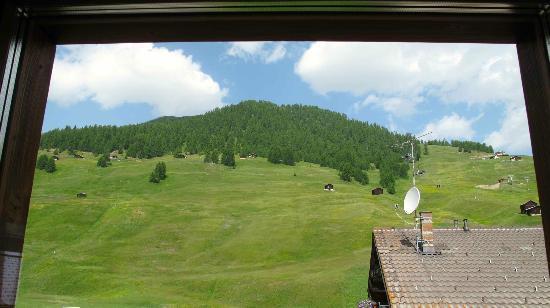 Hotel Sonne: dal balcone della camera