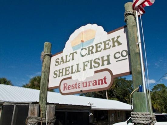 Salt Creek Restaurant: Welcome Sign