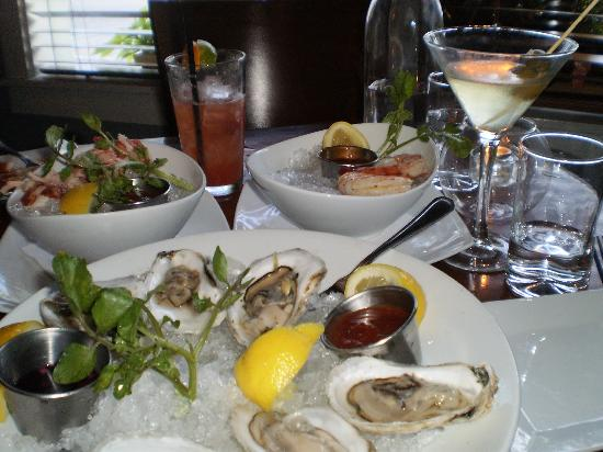 Sea Rose Suites: Fresh Seafood Appetizers at Front Porch Restaurant