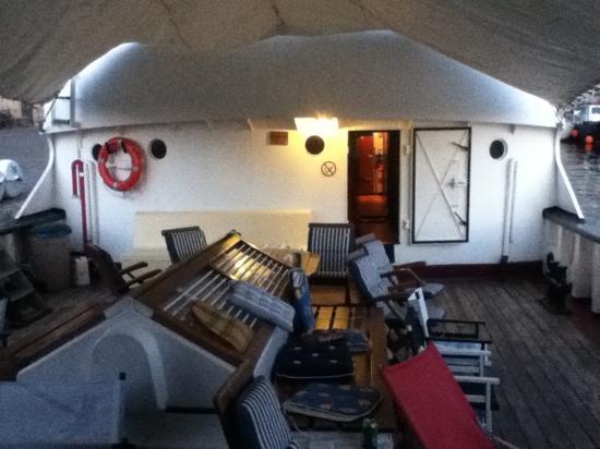 Arctic Janus: on deck
