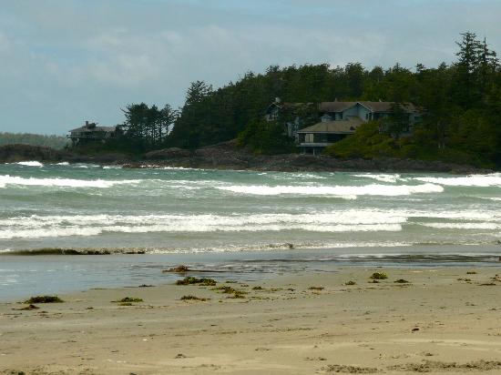 Chesterman Beach , looking at the Pointe restaurant