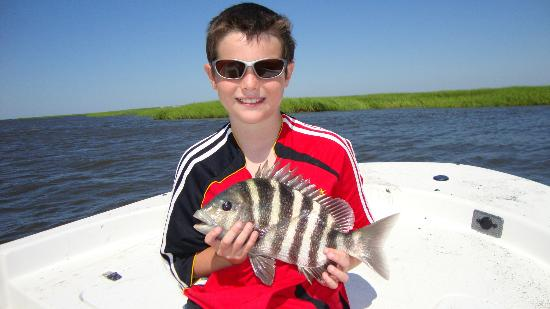 The Sail Shop Tours: Sheepshead caught with Captain Will!