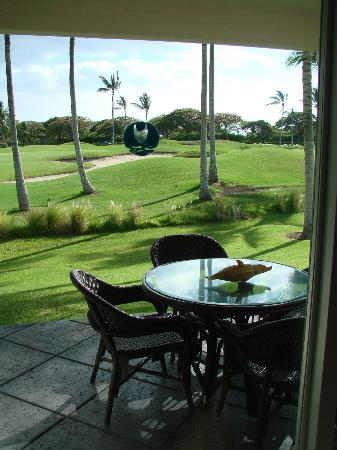 Fairway Villas: lanai