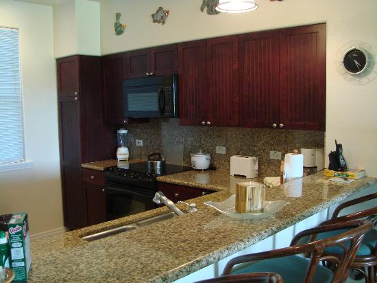 Fairway Villas: kitchen