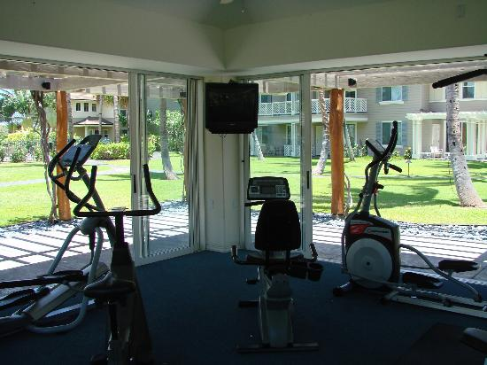 Fairway Villas: gym