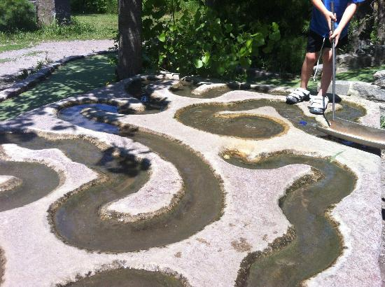 Great Big Stone Mini Golf And Sculpture Garden: 13th Hole, The Last, The