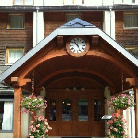 Hôtel des Horlogers : Hotel entrance