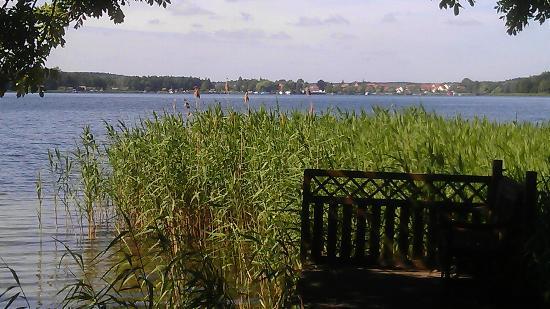 Blick Vom Bootssteg Auf Den Krakower See Bild Von Ich Weiss Ein