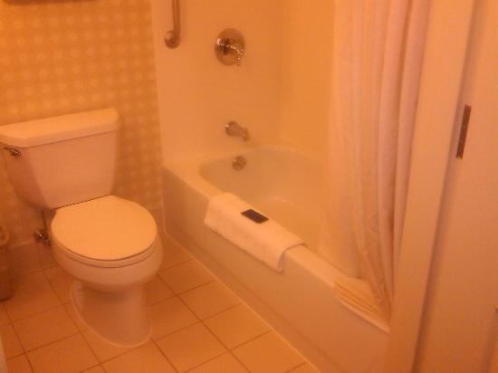 Hilton Garden Inn Norwalk: bathroom